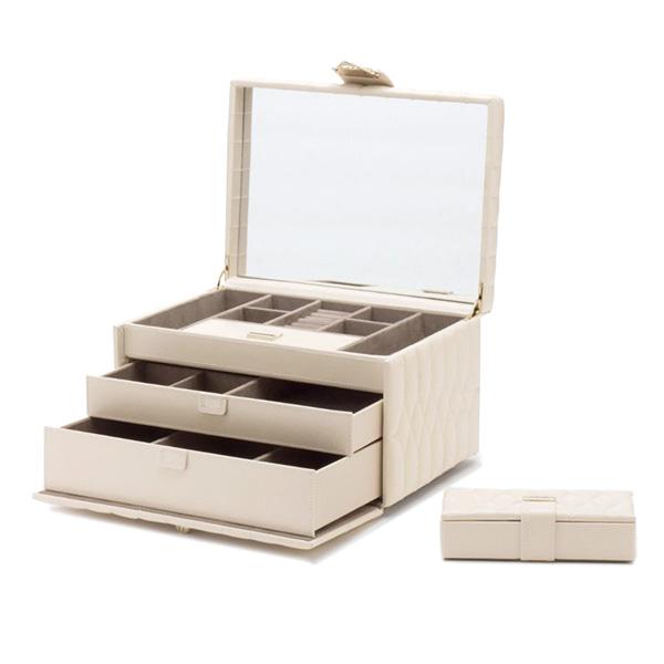 [울프 WOLF] 329753 / 보석함 Caroline Medium Box Ivory 타임메카
