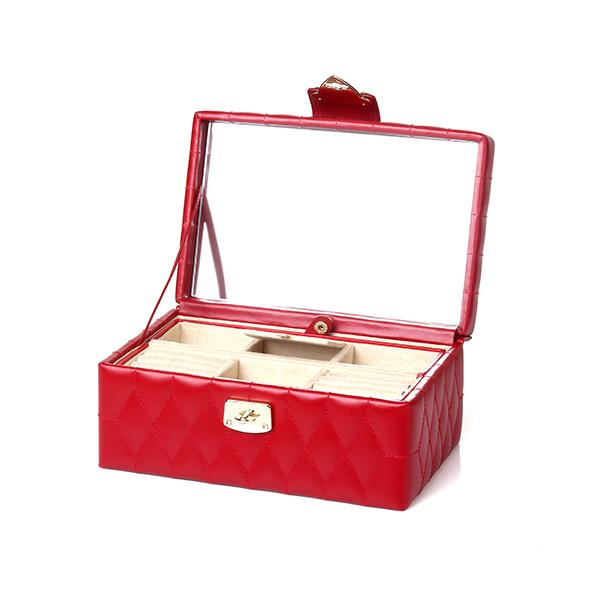 [울프 WOLF] 329872 / 보석함 Caroline Small Box Red 타임메카